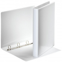 Esselte Ringbuch A4 4 Ringe 20mm weiß