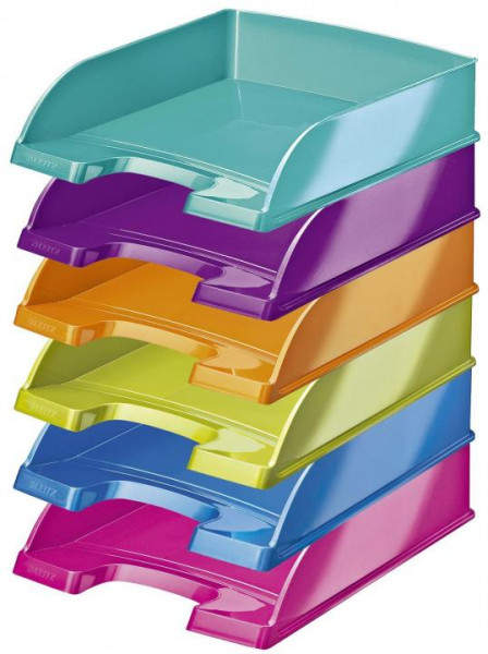 LEITZ Briefkorb Plus WOW A4 verschiedene Farben