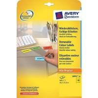 Zweckform L6041-20 Farbige Etiketten