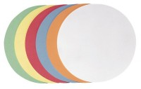 Franken Moderationskarten Kreis 140 mm