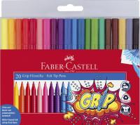 20 Faber Castell Grip Filzstifte