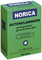 Norica Aktenklammern mit Kugelenden