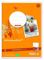 Vokabelheft A4 40 Blatt mit 2 Mittelstrichen