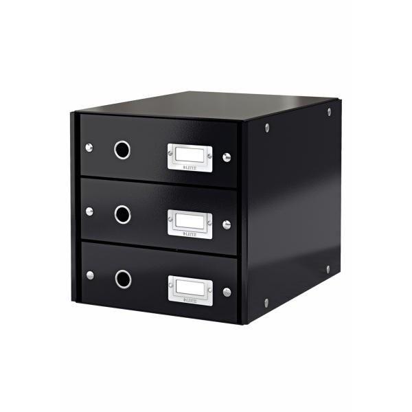 LEITZ Schubladenbox Click & Store schwarz