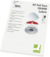 CD/DVD Label bedruckbar weiß 50 Stück