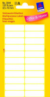 Zweckform 3044 Mini Organisationsetiketten