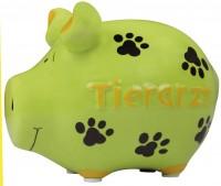 Spardose Schwein Tierarzt