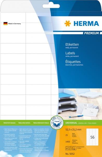 395052-Etiketten-Premium-weiss-52-5x21-2-mm-Papier-matt-1400