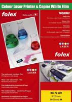 Kopierfolien für Farbdrucker und Farbkopierer weiß glänzend