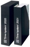 Time/system Ersatzkalendarium Jahresinhalt Tagesplan A5 1 Tag / 2 Seiten A5