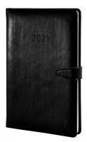 Chronoplan 50801 Buchkalender 2021 schwarz_1