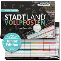 Stadt Land Vollpfosten Junior Edition