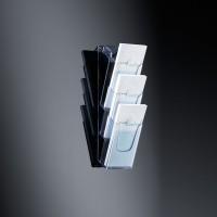 768081-Wand-Prospekthalter-acrylic-3-Faecher-3-x-A5-glasklar