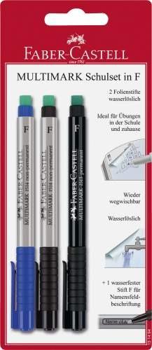 Faber-Castell Multimark Schulset