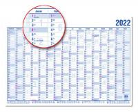 Güss Wandkalender 2022 A2 16 Monate