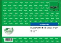 Sigel Rapport Wochenbericht RP517