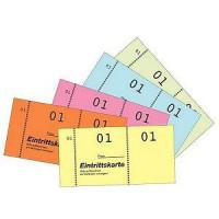 Zweckform 871 Eintrittskartenblock