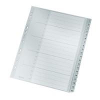 LEITZ Plastikregister Zahlen 1-20 A4