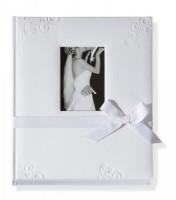 Fotoalbum Hochzeit Sweet Kiss weiss