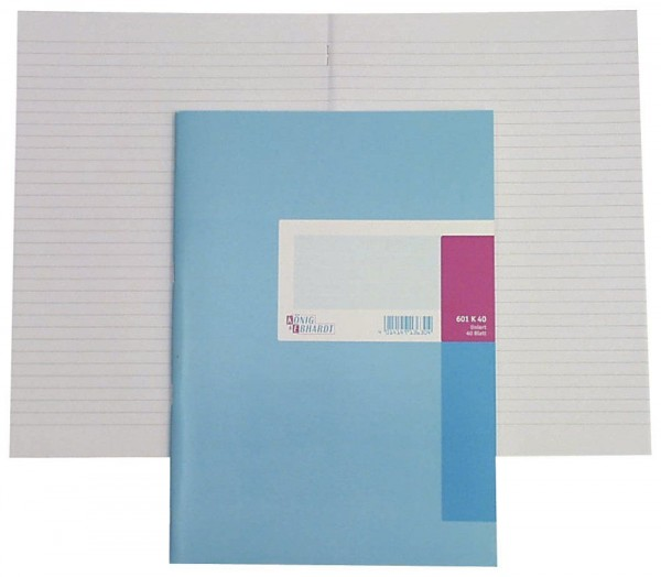 Geschäftsbuch A4 40 Blatt kariert
