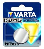 VARTA CR2025 Knopfzellen 3V