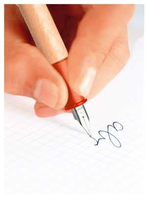 Füller zum schreiben