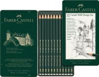 Faber-Castell 9000 Design Set 12 Bleistifte