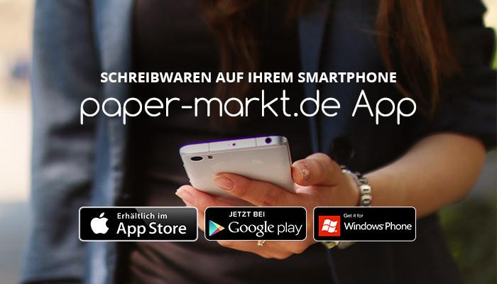 Paper-Markt als App - immer auf dem Laufenden