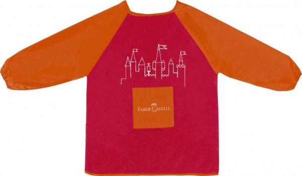Faber-Castell Malschürze Mädchen rot orange