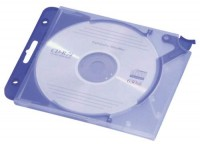 Durable CD Leerhülle Quick Flip blau