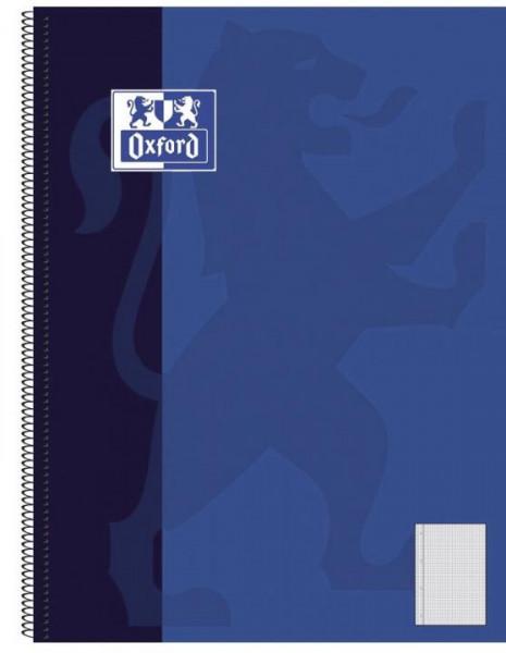 Oxford Collegeblock DIN A4+ kariert mit Rand