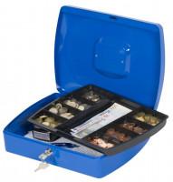 Geldkassette 325x235x85mm blau