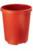 Papierkorb XXL 50 Liter rot