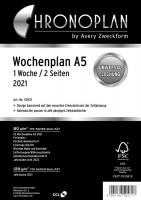 CHRONOPLAN 50571 A5 2021 Wochenplan