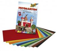 Fotokarton A3 farbig sortiert