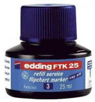 edding FTK 25 Nachfülltusche blau