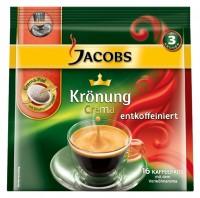 Kaffeepads Jacobs Krönung entkoffeiniert