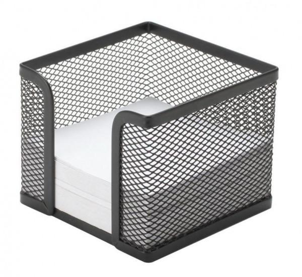Q-CONNECT Zettelbox Metalldraht schwarz