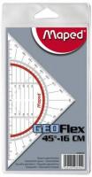 Maped Geodreieck 16cm flexibel