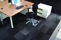 Bodenschutzmatte 120 x 75 cm klar