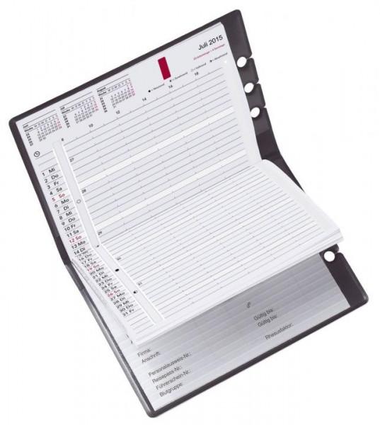 Kalenderhülle für Taschenkalender A5 schwarz