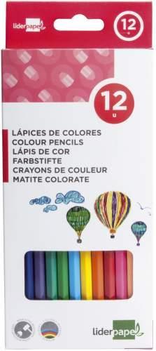 Farbstifte 12 Stück Liderpapel