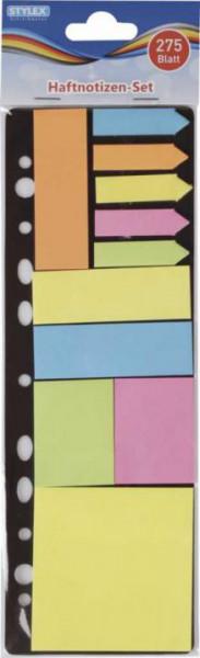 Stylex Haftnotizblock Set abheftbar 11 Motive je 25 Blatt