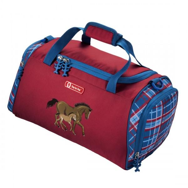 HA102885-Step-by-Step-Sporttasche-Pferde-Horse-Family