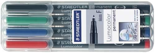 Staedtler Lumocolor permanent F 4 Farben