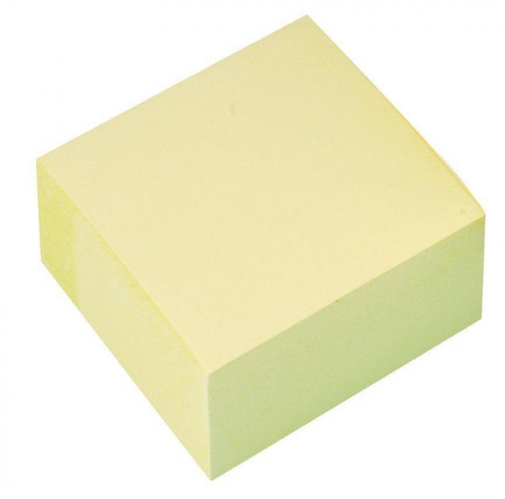400 Blatt gelb 76 x 76 mm Tartan Haftnotiz Würfel