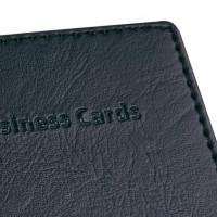 766436-Sigel-Visitenkartenbuch-schwarz-fuer-40-Karten-bis-Gr
