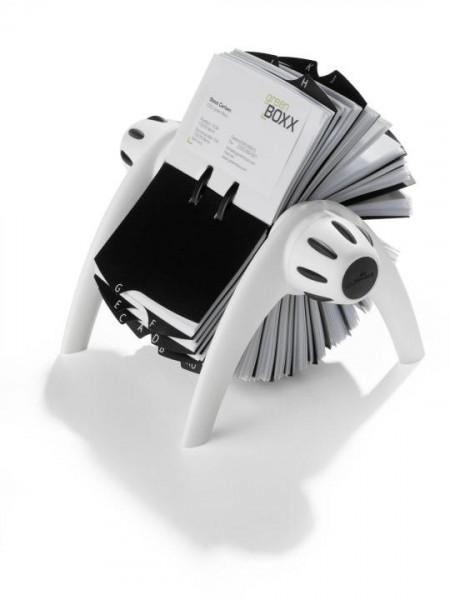 DURABLE VISIFIX FLIP Rollkartei 400 Karten weiß