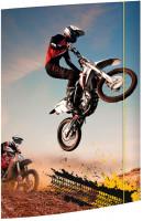 Sammelmappe A3 Motocross Karton mit Gummizug_1