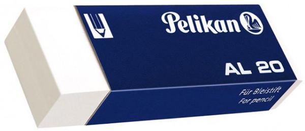 Pelikan Radierer AL20 Radiergummi 65 mm x 21 mm x 12 mm